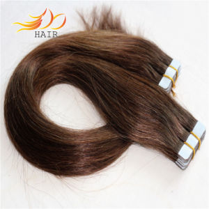 100% Remy Hair Tape Prebonded Human Hair Extension pictures & photos