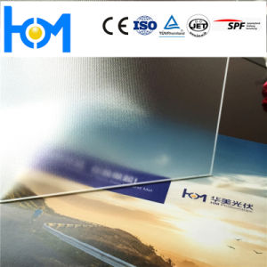 Tempered Glass Toughened Solar Photovoltaic Glass Clear Glass pictures & photos