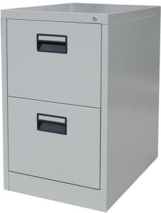 Knocked-Down Anti-Tilt Metal 2 Drawer File Cabinet pictures & photos