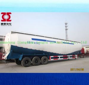 China Factory 3 Axle Bulk Cement Trailer for Sale pictures & photos