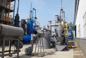 Plastic Waste Pyrolysis Gasifier Furnace for Combustible Gas / Agriculture  Waste Gasification Furnace to Produce Gas / Argo Waste Gasifier Stove for