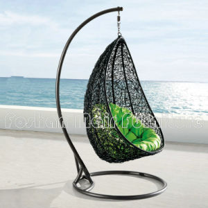 Outdoor Rattan Chair, Casual Hanging Basket Swing Chair, Garden Rattan  Hanging Egg Chair,