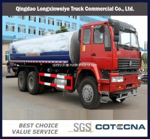 Sinotruk HOWO 4X2 10cbm Heavy Sprinkler Water Tank Truck pictures & photos