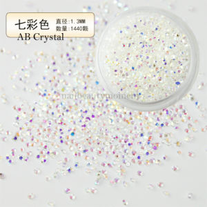 Nail Crystal Beads Beauty Micro Zircon Rhinestone Decoration Accessories (D90)