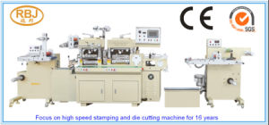 Hot Stamping Foil Flatbed Label Die-Cutter Machine