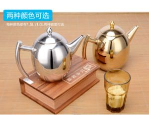 1000ml Stainless Steel Olive Coffeepot (CS-024)