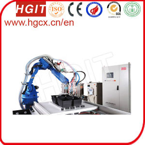 Polyurethane (PU) Gasket Foam Seal Dispensing Machine for Oil Filter Housings pictures & photos