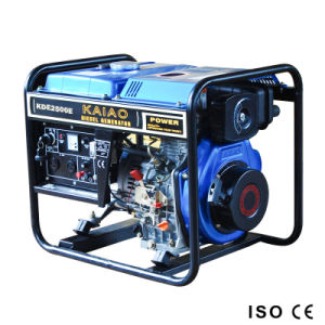Portable Diesel Generator 2kVA for Home Use