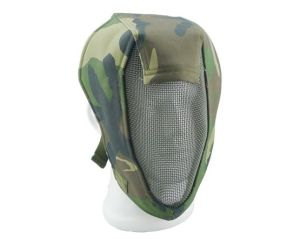 China Wholesale Cheap Version Airsoft BBS Protected No Fog Steel Mesh Full Face Airsoft Mask