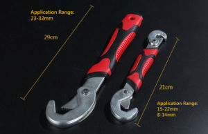High Quality Torque Wrench Universal Adjustable Spanner Wrench pictures & photos
