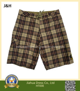 Hot Sale Men′s Plaid Boardies/Baggy Board/Beach Shorts