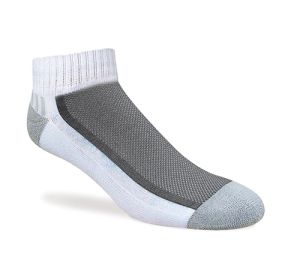 Men Cotton Sports Socks Quarter Style with Half Cushion (MFC-021) pictures & photos
