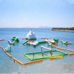 Hot Popular Customized Inflatable Floating Water Park for Lake pictures & photos