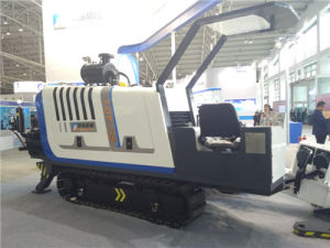 HDD Horizontal Directional Drilling Machine Trenchless Drill Rig with 350kn Capacity pictures & photos