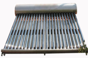 Low Pressure Domestic Vacuume Tube Solar Water Heater pictures & photos