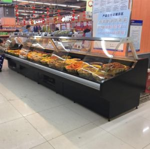 Large Capacity Deli Case, Cooked Foods Fresh Display Showcase pictures & photos