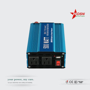 Single Phase DC AC Solar Pure Sine Wave Power Inverter 500 Watt