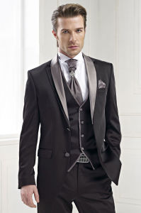 High End Custom Made Men Tuxedo Suit pictures & photos