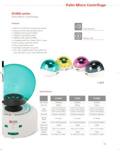 Mini/ Pocket/ Lab/Medical Centrifuge pictures & photos