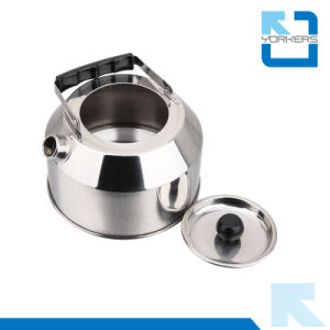 1L 201 Stainless Steel Kitchenware Outdoor Non-Electric Tea Kettle Water Kettle pictures & photos
