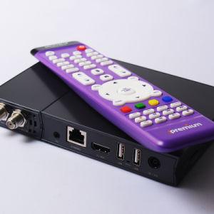 China DVB-S2 HD Satellite + IPTV Server Combo WiFi Receiver