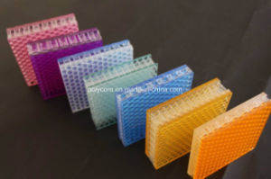 Decorative Optical Honeycomb Board pictures & photos