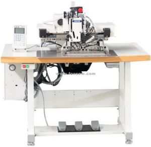 Extra Heavy Duty Automatic Pattern Sewing Machine with Large Shuttle Hook pictures & photos
