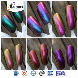Chrome Pigment Powders for Nail Polish pictures & photos