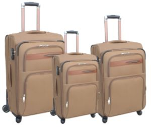 1200d Polyester Inside Trolly Luggage pictures & photos