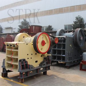 High Production Stationary Jaw Crusher for Stone with AC Motor