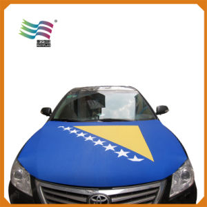 Bosnia and Herzegovina National Flag Car Hood Cover Flag (HYCH-AF015) pictures & photos