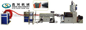 PE Carbon Spiral Reinforced Pipe Production Line/30-100mm Pipe Extrusion Line