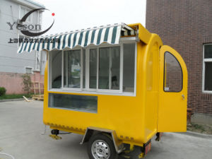 Large Stock Hand Push Food Cart for Sale and Fast Food Vending Cart Set pictures & photos