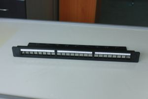 UTP 24 Port with Back Bar Blank Patch Panel pictures & photos