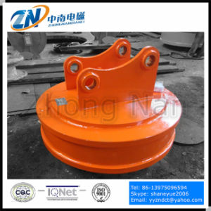 Steel Scrap Lifter Magnet for Excavator Installation Used in Scrap Yard Emw-165L pictures & photos