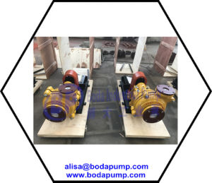 OEM Centrifugal Industrial Slurry Pump pictures & photos