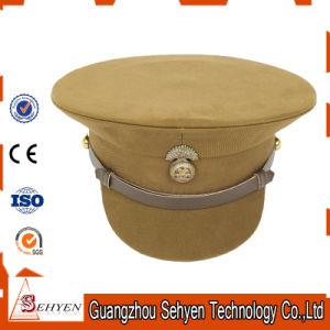 ece82ada80f33 China OEM Customized Military Peaked Cap Officer Hat - China Peak ...