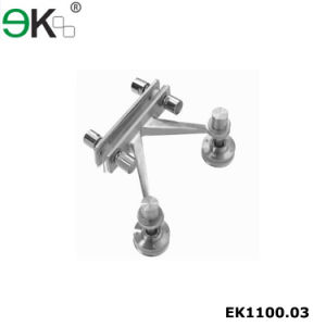 Stainless Steel Two Arms Glass Curtain Wall Spider Fittings