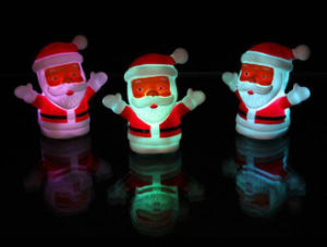 2017 Hot Popular LED Santa Claus Night Light pictures & photos