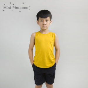 2cfc4d6c8 China Golden Yellow Cotton Children Wear Kids Clothes Boys T-Shirt - China  Boys T Shirts, Cool Kids T Shirts