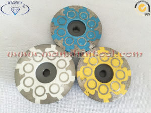 4′′ Resin Filled Cup Wheel for Granite pictures & photos
