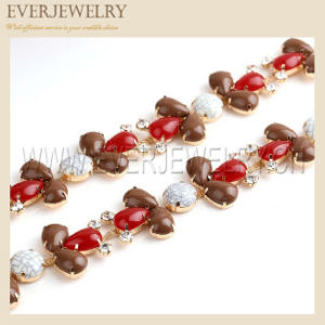 Drop Rhinestone Cup Chain pictures & photos