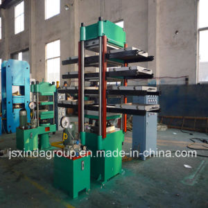 Xlb-500 Rubber Tile Molding Machine Tire Recycling pictures & photos