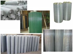 China Galvanized Welded Wire Mesh Fence with Cheap Price High Quality pictures & photos