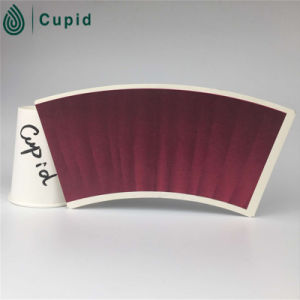 Hztl Printed Cup Paper/ PE Coated Printed Paper Cup Fan/Paper Cup Fan pictures & photos