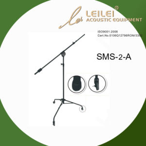 Height Adjustable Studio Microphone Stand (SMS-2-A) pictures & photos