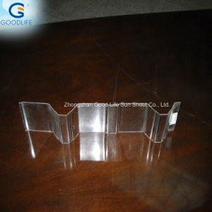 China Manufacturer Direct Sale 1.2mm-2.0mm PC Corrugated Sheet Polycarbonate Plastic pictures & photos