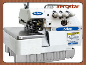 Br-737 Three Thread Overlock Sewing Machine pictures & photos