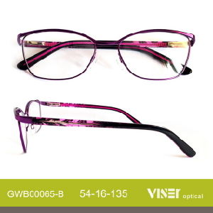 Fashion Metal Eye Glasses Opticals with New Design 2016 (65-C) pictures & photos