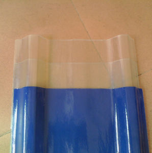 Shanghai Supplier Translucent PVC Roofing Tiles with Cost Price pictures & photos